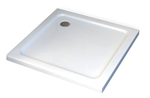 Duschtasse Duschwanne quadratisch 90 x 90 cm inkl Ablaufgarnitur - Duschtasse Duschwanne quadratisch - 90 x 90 cm inkl. Ablaufgarnitur